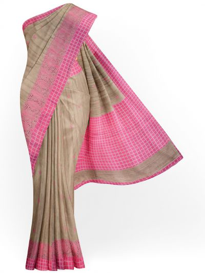 MIB3582762-Kyathi Semi Tussar Silk Saree