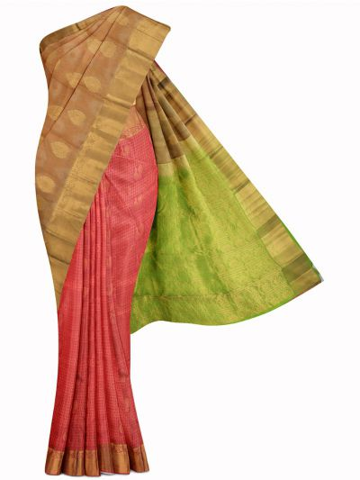 MID5570243-Vipanji Traditional Half and Half Design Silk Saree