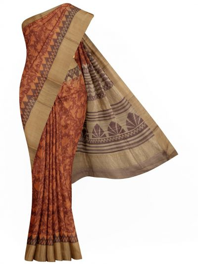 MID6130836 - Pure Tussar Silk Saree