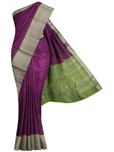 Chamelli Exclusive Mangalagiri Silk Cotton Saree - MJA6623090