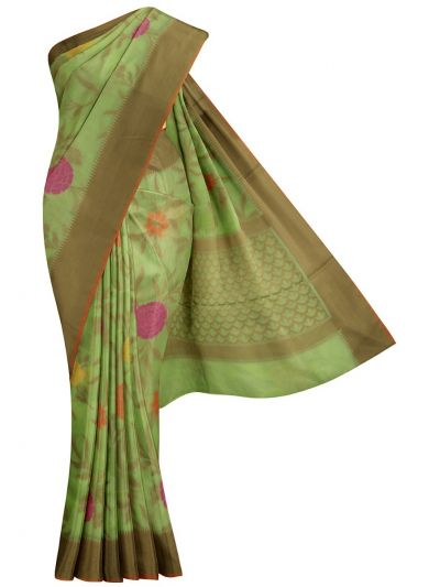 Kathana Fancy Manipuri Weaving Saree - MJA6709652