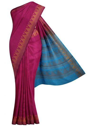 Chamelli Arani Silk Cotton Saree - MJA6959889