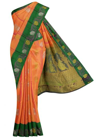 Bairavi Traditional Silk Saree - MJA7005804