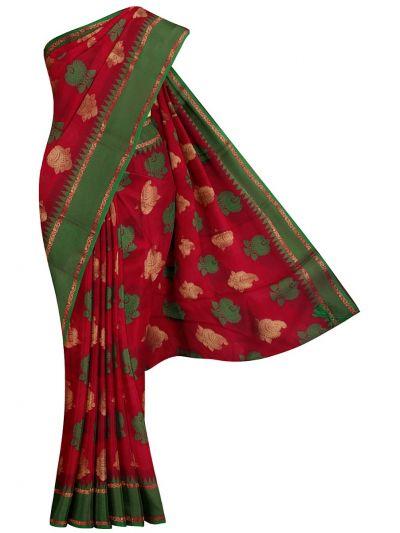 Kathana Fancy Raw Silk Weaving Saree - MJB7204952