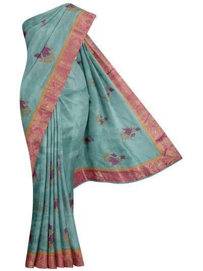Kathana Fancy Embroidered Raw Silk Saree - MJC7557449