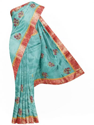 MJC7557459 - Semi Jute Embroidery Saree