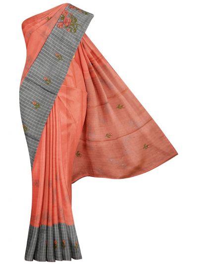 Kathana Fancy Raw Silk Weaving Saree - MJC7565302