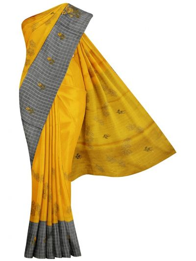 Kathana Fancy Raw Silk Weaving Embroidered Saree - MJC7565303