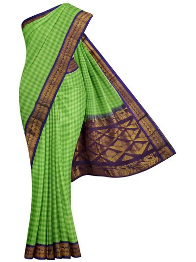 Chamelli Exclusive Gadwal Silk Cotton Saree - MJC7709533