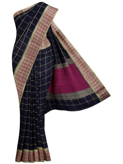 Chamelli Fancy Silk Cotton Saree - MJC7738926