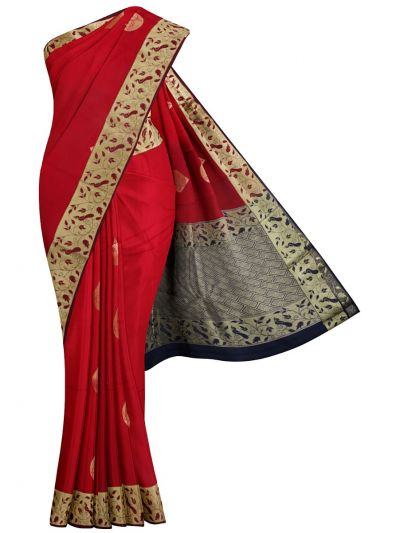Chamelli Fancy Silk Cotton Saree - MJC7738953