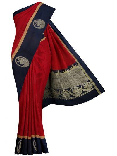 Chamelli Fancy Silk Cotton Saree - MJC7738954