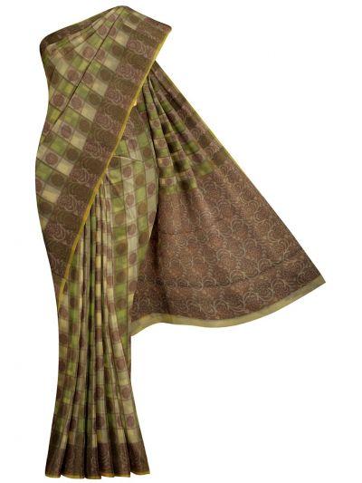 Kathana Fancy Manipuri Weaving Saree - MKB9153422