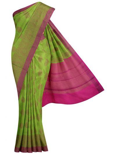 Kathana Fancy Manipuri Cotton Weaving Saree - MKB9250855