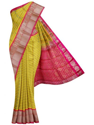 MKC9541038-Dupion Silk Saree