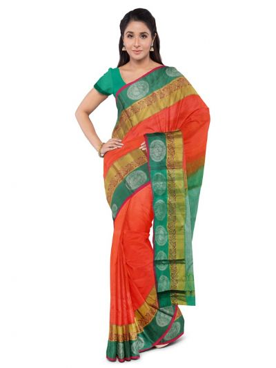 Bairavi Traditional Silk Saree - MKD0114759