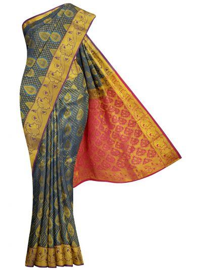Bairavi Traditional Gift Art Silk Stone Work Saree - MKD0219057