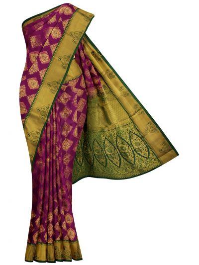 Bairavi Traditional Gift Art Silk Stone Work Saree - MKD0219112