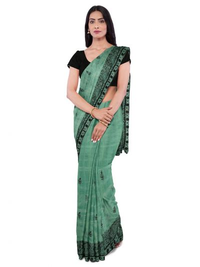 ONL-MCC9538324-Kathana Exclusive Designer Embroidery Raw Silk Saree