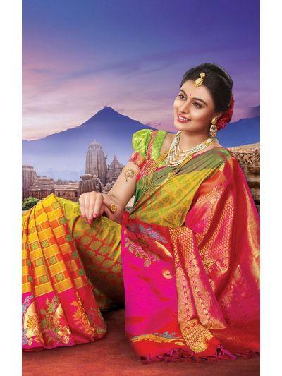 Vivaha Bridal Silk Saree VBBS2016