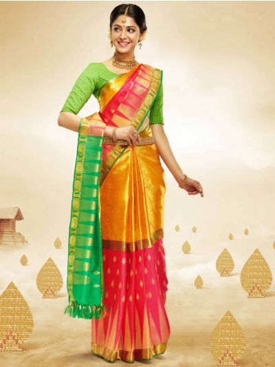 Vivaha Goddess Bridal Silk Saree