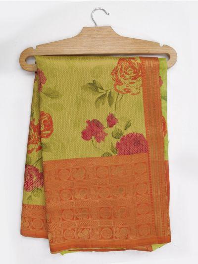 Kathana Art Dupion Raw Silk Weaving Saree - MGB9149031