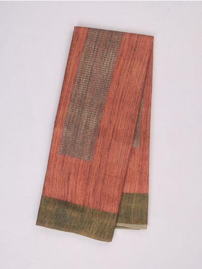 MID4886004-Fancy Printed Kadhi Silk Saree