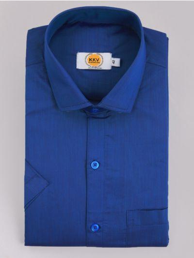 KKV Cotton Shirt & Fancy Border Dhoti Set  - MIC3813680