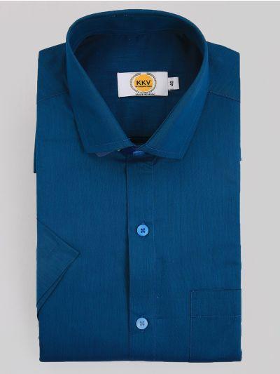 KKV Cotton Shirt & Fancy Border Dhoti Set  - MIC3813686