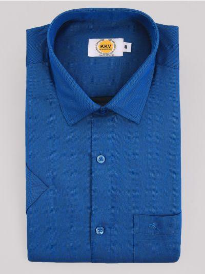 KKV Cotton Shirt & Fancy Border Dhoti Set  - MIC3813687