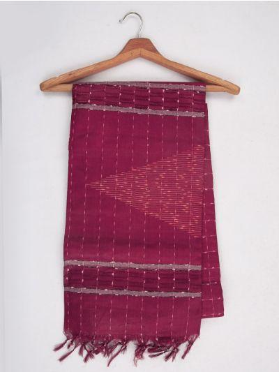 Sahithyam Dupion Tussar Silk Saree - MFB2483567