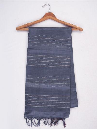 Sahithyam Dupion Tussar Silk Saree - MIC4277882