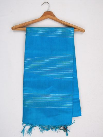 Sahithyam Dupion Tussar Silk Saree - MIC4277883