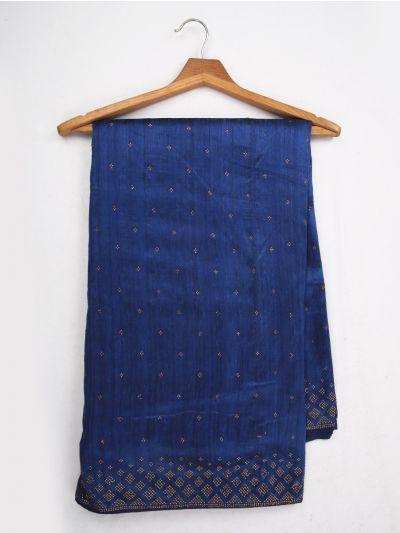 Sahithyam Exclusive Stone Work Sana Silk Saree - MJC7506054