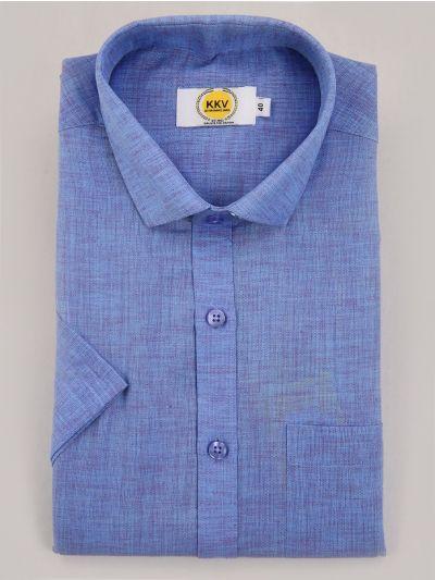 KKV Cotton Shirt & Fancy Border Dhoti Set  - MIC3813729