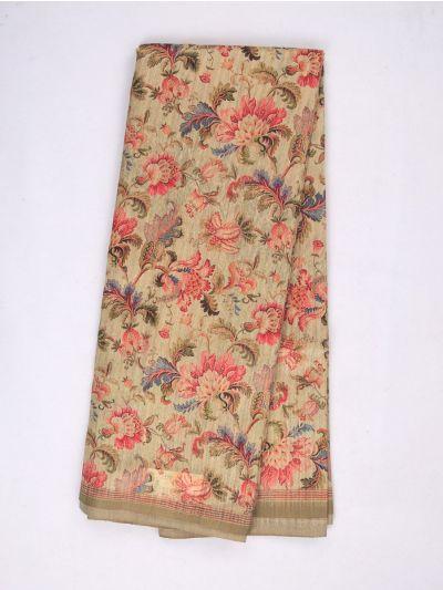 MID4886020-Fancy Printed Kadhi Silk Saree