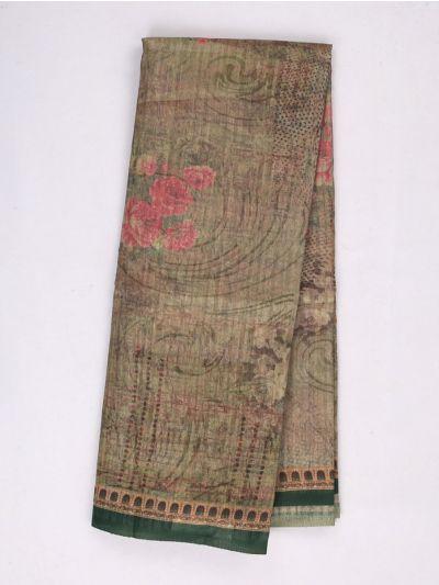 MID4886027-Fancy Printed Kadhi Silk Saree