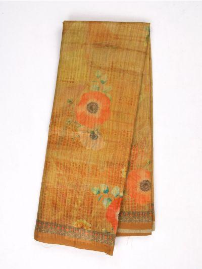 MID4886029-Fancy Printed Kadhi Silk Saree