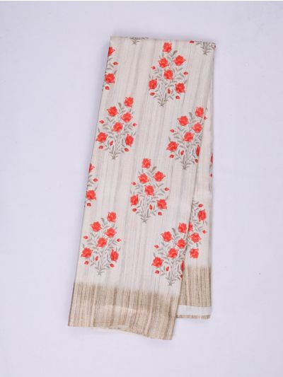 MID4886218-Fancy Printed Art Tussar Saree