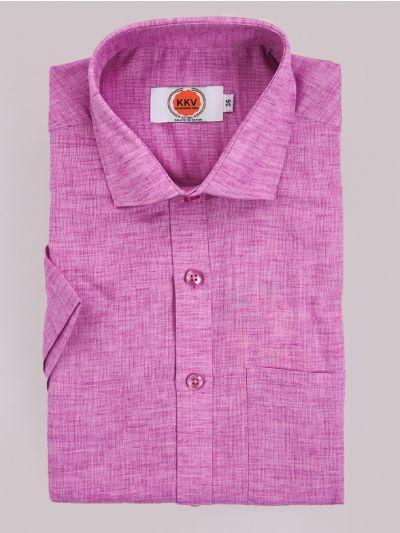 KKV Cotton Shirt & Fancy Border Dhoti Set  - MIC3813746