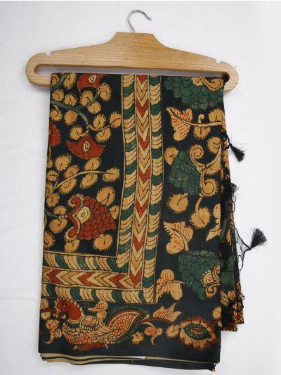 Kathana Fancy Digital Printed Semi Jute Saree - MIA3029316