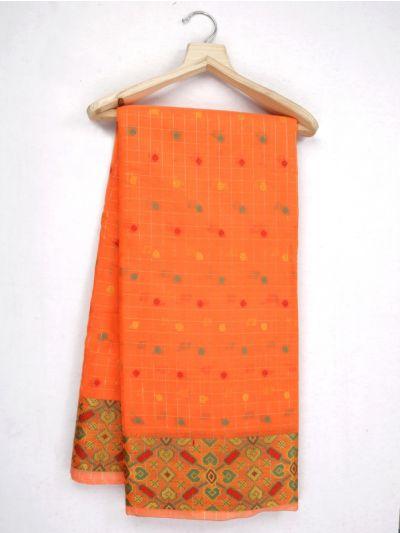 Kathana Fancy Printed Manipuri Cotton Saree - MKB9153426