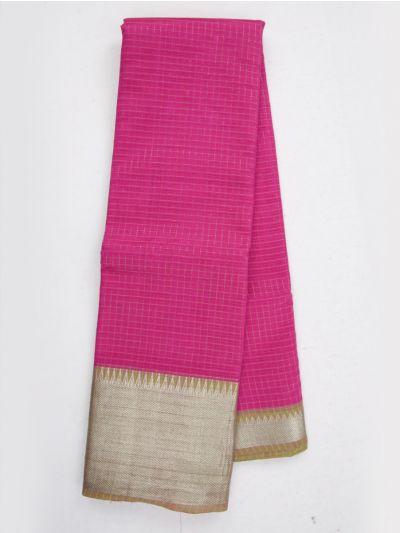 MKC9663386-Chamelli Mangalagiri Silk Cotton Saree
