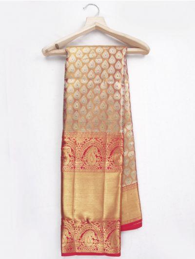 MKC9897822-Vivaha Kanchipuram Wedding Silk Saree