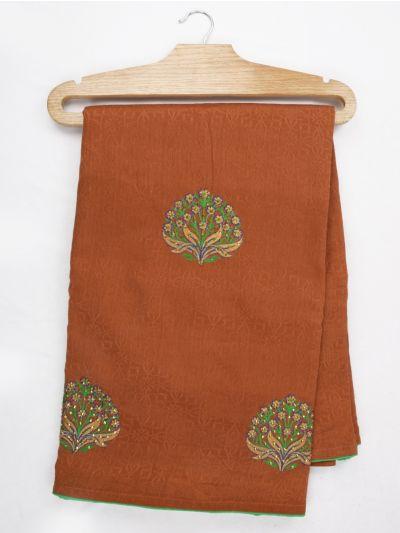 Jalathi Fancy Embroidered Semi Sana Silk Saree - MJD8052744
