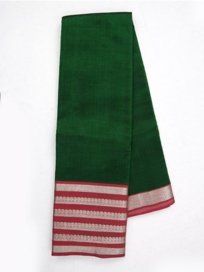 MKC9663381-Chamelli Mangalagiri Silk Cotton Saree