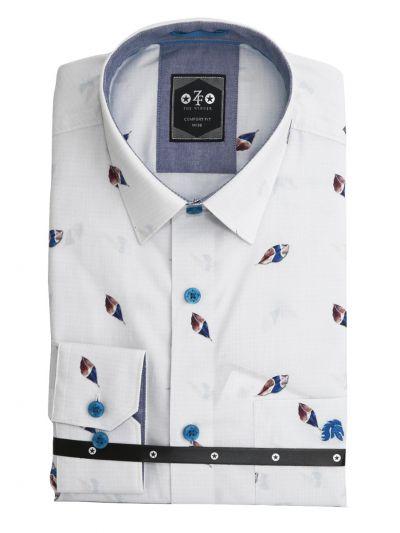EKM - ZF Men Readymade Casual Cotton Shirt