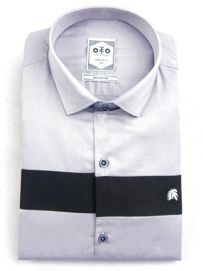 ZF Men's Casual Cotton Shirt-MFB5767713