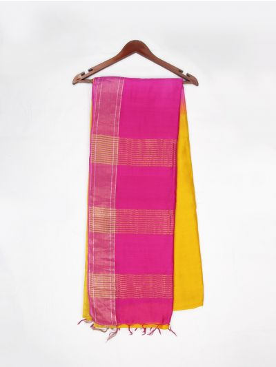 MDB1535774 - Fancy Chanderi Cotton Saree