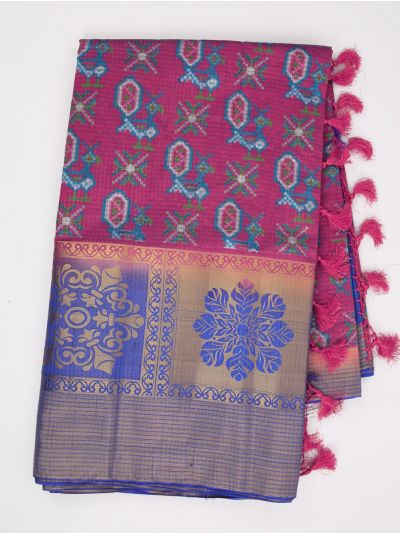 MGB9149020 - Khyathi Raw Silk Weaving Saree